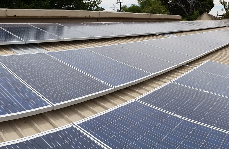 Commercial Solar - Reducing your carbon footprint