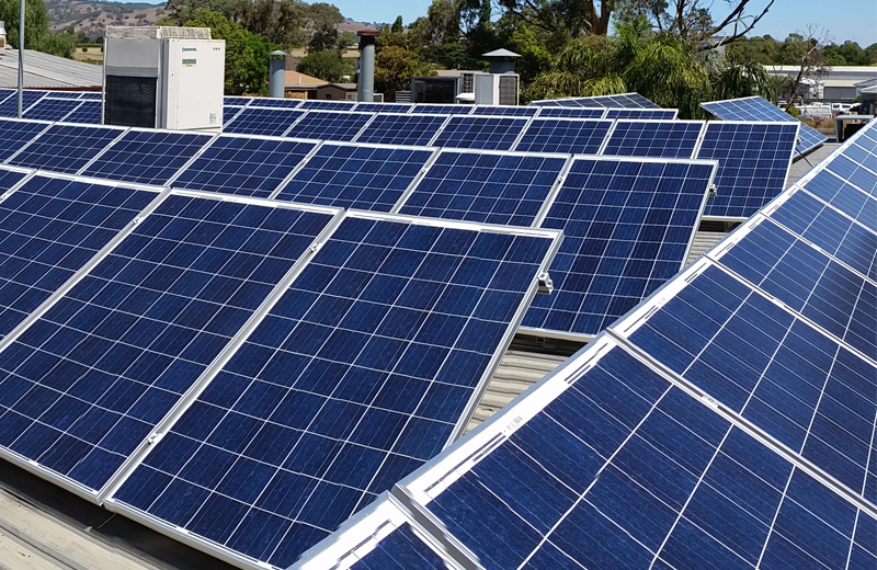 Commercial Solar - Reduce your Business costs